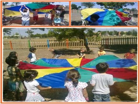 Campamento de verano con actividades deportivas en Zaragoza.