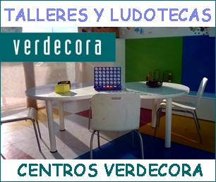 Talleres y Ludotecas en Centros Verdecora gestionados por Kidsco